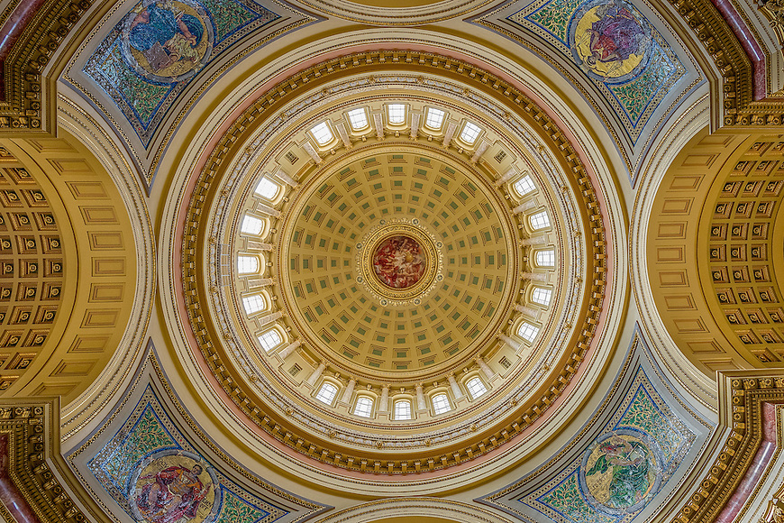 This image of the Capitol Dome in Madison, Wisconsin was named a winner in an annual photography contest from the Dane County Cultural Affairs Council and was published in the organizations 2016 calendar.