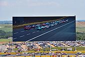 NASCAR Xfinity Series<br /> Hisense 4K TV 300<br /> Charlotte Motor Speedway, Concord, NC USA<br /> Saturday 27 May 2017<br /> Denny Hamlin, Hisense Toyota Camry and Ryan Blaney, Snap-On Ford Mustang<br /> World Copyright: Nigel Kinrade<br /> LAT Images<br /> ref: Digital Image 17CLT2nk05579