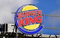 Nederland - Amsterdam -  Februari 2019.  Burger King reclame op het Leidseplein.  Foto Berlinda van Dam / Hollandse Hoogte