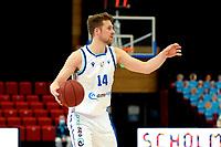 10-04-2021: Basketbal: Donar Groningen v ZZ Leiden: Groningen, Donar speler Thomas Koenis
