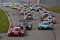Race Start, #23 Alianza/Gilbert Motorsports Norma M30, LMP3: Anthony Simone, Mike Skeen