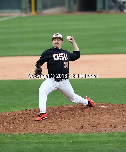 Brandon Eisert - 2018 - Oregon State Beavers (Bill Mitchell)