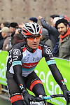 Yaroslav Popovych (UKR) Radioshack Leopard at the sign on before the start of the 104th edition of the Milan-San Remo cycle race at Castello Sforzesco in Milan, 17th March 2013 (Photo by Eoin Clarke 2013)