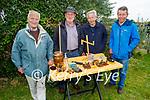 Attending the Churchill Heritage show in Churchill on Sunday, l to r: Brian O'Daly (Tralee), Joe Brennan (Kilflynn), Dan and Thomas Moynihan (Derrymore).