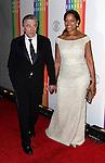 Robert De Niro & wife Grace Hightower attending the 35th Kennedy Center Honors at Kennedy Center in Washington, D.C. on December 2, 2012