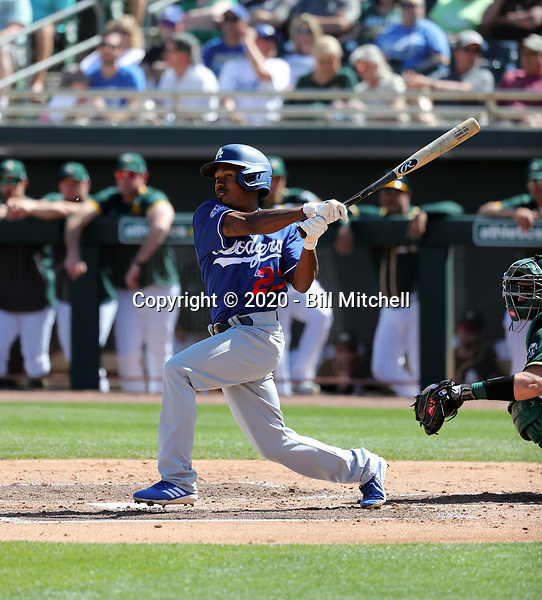 Terrance Gore - Los Angeles Dodgers 2020 spring training (Bill Mitchell)