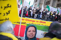 2019/11/23 Politik | Berlin | Exil-Iraner | Demonstration