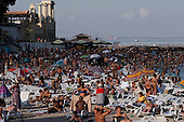 """Odessa, Ukraine<br /> August 27, 2005 <br /> <br /> Odessa's """"Arcadia"""" beach at the end of the day."""