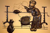 France/06/Alpes-Maritimes/Arrière pays niçois/Villeneuve-Loubet: Musée de l'art culinaire - Détail [Non destiné à un usage publicitaire - Not intended for an advertising use]