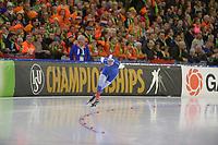 SPEEDSKATING: HEERENVEEN: 11-01-2020, IJsstadion Thialf, European Championship distances, 5000m Men, Danila Semerikov (RUS), ©foto Martin de Jong