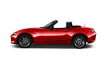Car Driver side profile view of a 2016 Mazda MX-5 Skycruise 2 Door Convertible Side View