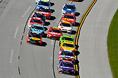 Monster Energy NASCAR Cup Series<br /> GEICO 500<br /> Talladega Superspeedway, Talladega, AL USA<br /> Sunday 7 May 2017<br /> Denny Hamlin, Joe Gibbs Racing, FedEx Express Toyota Camry and Kyle Busch, Joe Gibbs Racing, Skittles Red, White, & Blue Toyota Camry<br /> World Copyright: Nigel Kinrade<br /> LAT Images<br /> ref: Digital Image 17TAL1nk06036