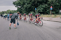 Greg Van Avermaet (BEL/BMC) puts his team the work in the race finale<br /> <br /> 2017 National Championships Belgium - Elite Men - Road Race (NC)<br /> 1 Day Race: Antwerpen > Antwerpen (233km)