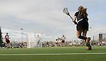 FRANKFURT AM MAIN, GERMANY - April 14: During the Deutschland Lacrosse International Tournament match between Germany vs Austria on April 14, 2013 in Frankfurt am Main, Germany. Germany won, 10-4. (Photo by Dirk Markgraf)