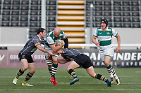 Sam Dickinson of Ealing Trailfinders during the Greene King IPA Championship match between Ealing Trailfinders and Nottingham Rugby at Castle Bar , West Ealing , England  on 30 March 2019. Photo by Carlton Myrie.