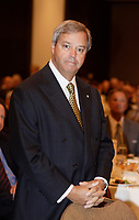 """L. Jacques Menard, Chairman, BMO Nesbitt Burns and<br /> President BMO Financial Group-Quebec<br /> attend the Canadian Club of Montreal speech by Tony Comper on  """"Why non-Jews must confront antisemitism"""", September 11 2006.<br /> Photo by Pierre Roussel / Images Distribution"""