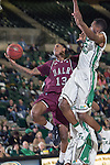 Arkansas Little Rock Trojans guard/forward Leroy Isler (13) in action during the game between the Arkansas Little Rock Trojans and the North Texas Mean Green at the Super Pit arena in Denton, Texas. UALR defeats UNT 62 to 57...