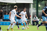 LAKE BUENA VISTA, FL - JULY 23: Alvaro Medran #10 of the Chicago Fire dribbles the ball during a game between Chicago Fire and Vancouver Whitecaps at Wide World of Sports on July 23, 2020 in Lake Buena Vista, Florida.