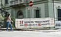 "SAGRA DEL ""PESCE E PATATE"" 2011, BARGA, ITALY<br /> <br /> ONE LOCAL HEADS TO THE FESTIVAL."