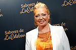 Spanish celebrity Belen Esteban presents two new products by 'Sabores de la Esteban'. October 5, 2021. (ALTERPHOTOS/Acero)