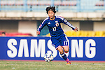 Japan plays against DPR Korea during the AFC U-16 Women's Championship China 2015 Group B match at the Xinhua Road Stadium on 09 November 2015 in Wuhan, China. Photo by Aitor Alcalde / Power Sport Images