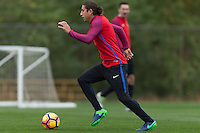 Columbus, OH - November 9, 2016: The U.S. Men's National team train in preparation for their Hexagonal round match vs Mexico at Obetz EAS Training Center.
