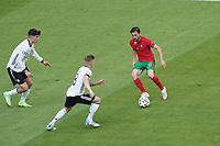 Bernado Silva (Portugal) gegen Kai Havertz (Deutschland Germany), Toni Kroos (Deutschland Germany)<br /> - Muenchen 19.06.2021: Deutschland vs. Portugal, Allianz Arena Muenchen, Euro2020, emonline, emspor, <br /> <br /> Foto: Marc Schueler/Sportpics.de<br /> Nur für journalistische Zwecke. Only for editorial use. (DFL/DFB REGULATIONS PROHIBIT ANY USE OF PHOTOGRAPHS as IMAGE SEQUENCES and/or QUASI-VIDEO)