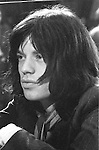"""Rolling Stones 1968 Mick Jagger at """"Rock and Roll Circus""""..© Chris Walter.."""