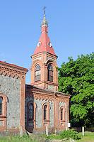 orthodoxe Kirche in Kolka, Lettland, Europa