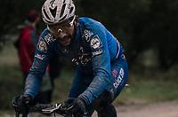 Fernando Gaviria (COL/Quick Step Floors)<br /> <br /> 12th Strade Bianche 2018<br /> Siena > Siena: 184km (ITALY)