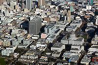 aerial photograph Civic Center City Hall San Francisco, California