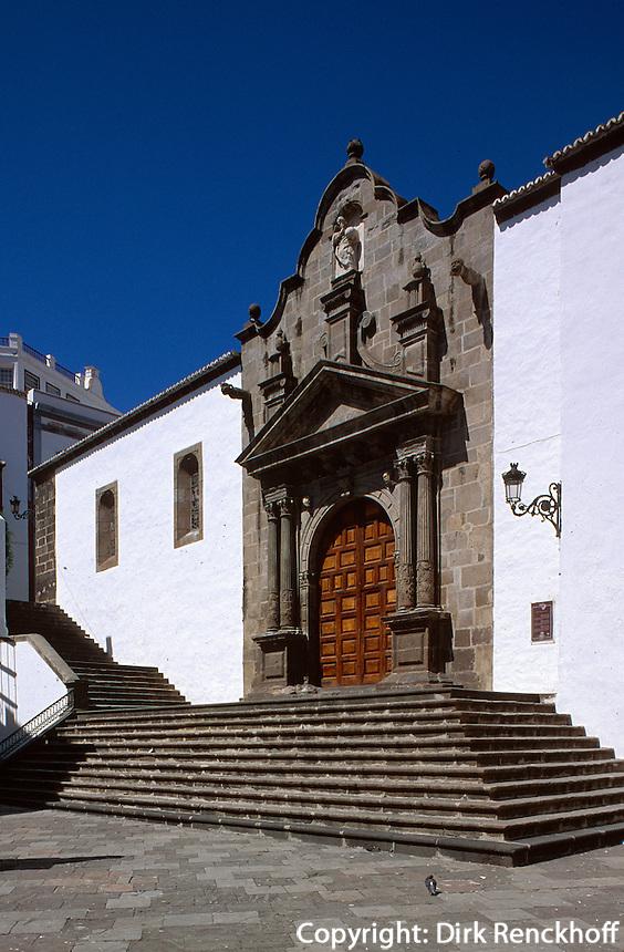 Spanien, Kanarische Inseln, La Palma,  San Salvador an der Plaza España