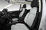 Front seat view of 2018 Ford Escape SE 5 Door SUV Front Seat  car photos