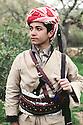 Iraq 1963 <br /> Masoud Barzani, son of General Barzani <br /> Iraqk 1963<br /> Masoud Barzani, fils du general Barzani