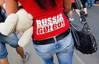 Tifosi Russia.12/6/2012 Varsavia .Football Calcio Euro 2012 .Russia Vs Polonia.foto Insidefoto / EXPA/ Sportida/ Vid Ponikvar