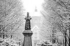January 4, 2020; Snow scenic (Photo by Matt Cashore/University of Notre Dame)