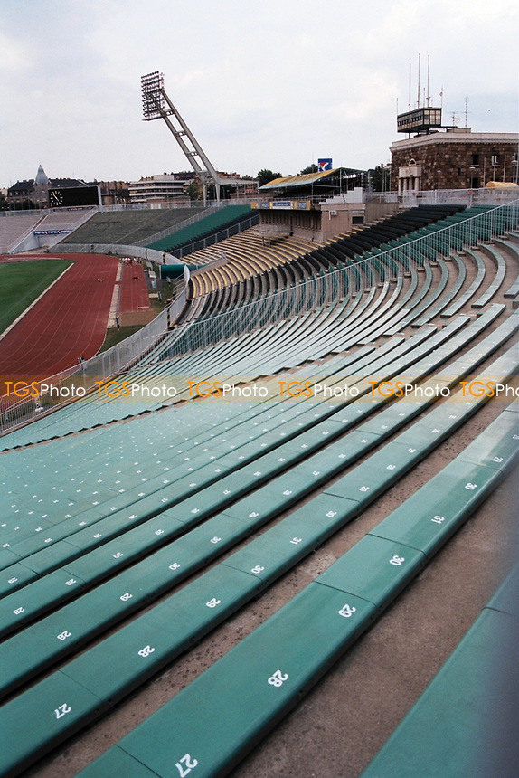 General view of the Nepstadion (People's Stadium), Zuglo, Budapest, home of Hungary's international football team