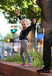 Evelyn Huntington, 7, dances at the concert at the Carson City Off-Road, Nev., on Saturday, June 16, 2018. <br /> Photo by Cathleen Allison/Nevada Momentum