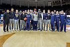 Mar. 29, 2015; The Men's Basketball team returns to the Joyce Center after the NCAA Tournament. (Photo by Matt Cashore/University of Notre Dame)
