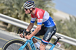 Mathieu van der Poel (NED) Alpecin-Fenix in action during Stage 1 of the 2021 UAE Tour the ADNOC Stage running 176km from Al Dhafra Castle to Al Mirfa, Abu Dhabi, UAE. 21st February 2021.  <br /> Picture: LaPresse/Fabio Ferrari | Cyclefile<br /> <br /> All photos usage must carry mandatory copyright credit (© Cyclefile | LaPresse/Fabio Ferrari)
