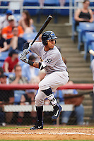 Trenton Thunder second baseman Cito Culver (23) during a game against the Binghamton Mets on May 29, 2016 at NYSEG Stadium in Binghamton, New York.  Trenton defeated Binghamton 2-0.  (Mike Janes/Four Seam Images)