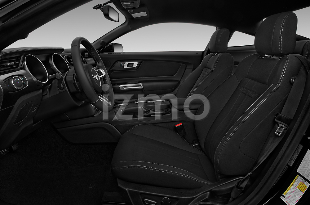 Front seat view of a 2018 Ford Mustang GT 2 Door Coupe front seat car photos