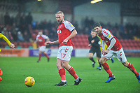 Fleetwood Town's forward Paddy Madden (17) during the Sky Bet League 1 match between Fleetwood Town and Burton Albion at Highbury Stadium, Fleetwood, England on 15 December 2018. Photo by Stephen Buckley / PRiME Media Images.