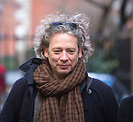 "Pic shows: Dexter Fletcher<br /> <br /> <br /> Funeral of Roger Lloyd-Pack - ""Trigger"" from Only Fools and Horses.<br /> <br /> Mourners arriving at the service at Actors Church in Covent Garden -<br /> <br /> <br /> <br /> <br /> Pic by Gavin Rodgers/Pixel 8000 Ltd"
