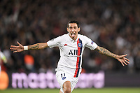 celebration - 11 ANGEL DI MARIA (PSG)<br /> Parigi 18-9-2019 <br /> Paris Saint Germain - Real Madrid  <br /> Champions League 2018/2019<br /> Foto Panoramic / Insidefoto <br /> Italy Only