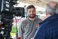Monday 21st October 2019 | Ulster Rugby Match Briefing vs Cardiff<br /> <br /> John Andrew - Ulster Rugby Match Briefing ahead of Ulster PRO14 League clash against Cardiff Blues at Kingspan Stadium, Ravenhill Park, Belfast, Northern Ireland. Photo by John Dickson / DICKSONDIGITAL