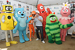 Blake Lewis & The cast of Yo Gabba Gabba! at the celebration of Habitat for Humanity Partnership with Home Build in Lynwood, California on August 12,2010                                                                               © 2010 Debbie VanStory / Hollywood Press Agency