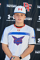 Zeth Rodriguez during the Under Armour All-America Tournament powered by Baseball Factory on January 17, 2020 at Sloan Park in Mesa, Arizona.  (Mike Janes/Four Seam Images)