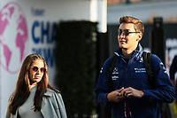 4th September 2021: Circuit Zandvoort, Zandvoort, Netherlands;  RUSSELL George gbr, Williams Racing F1 FW43B with his girlfriend during the Formula 1 Heineken Dutch Grand Prix qualifying