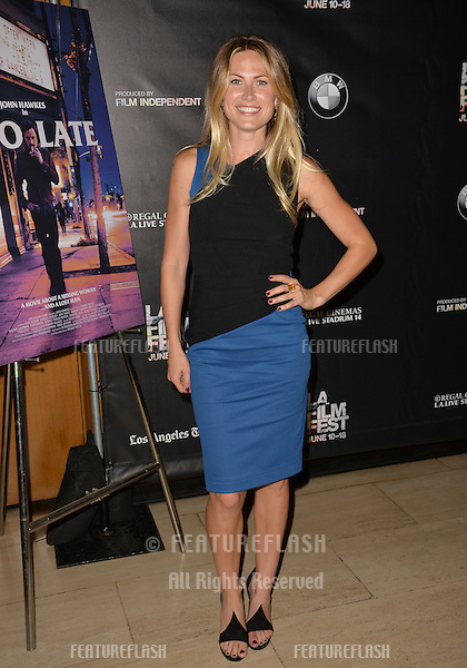 """Vail Bloom at the premiere of """"Too Late"""", part of the LA Film Festival, at the Bing Theatre at LACMA.<br /> June 11, 2015  Los Angeles, CA<br /> Picture: Paul Smith / Featureflash"""
